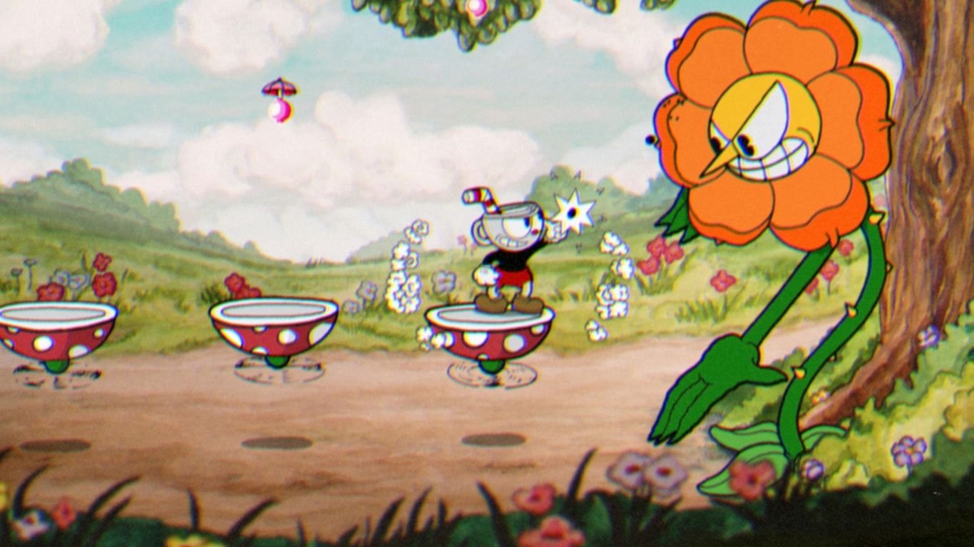 Hablemos de Level Design Cuphead-1