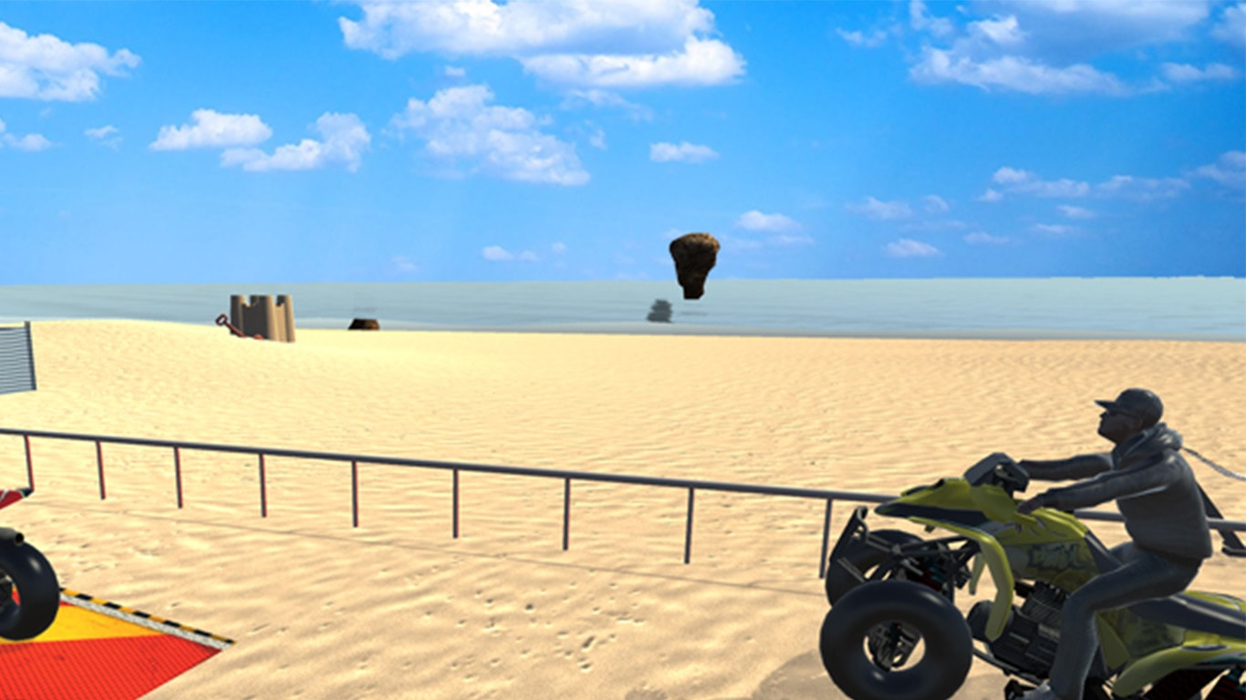 Beach Quad Bike Racing 3D
